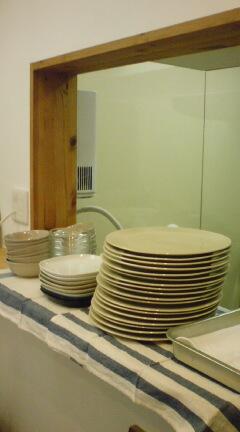 開店準備食器と長女の習い事