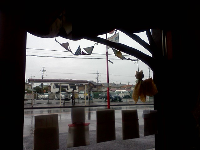 雨風。。。