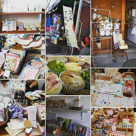 ユメノキマーケット開催中です!
